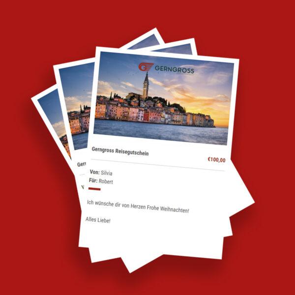 Gerngross Reisegutscheine Produktbild